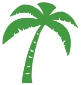 9398417-green-palm-three-silhouette